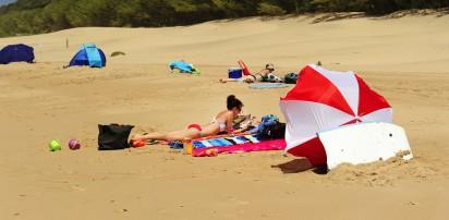 beach at vidal