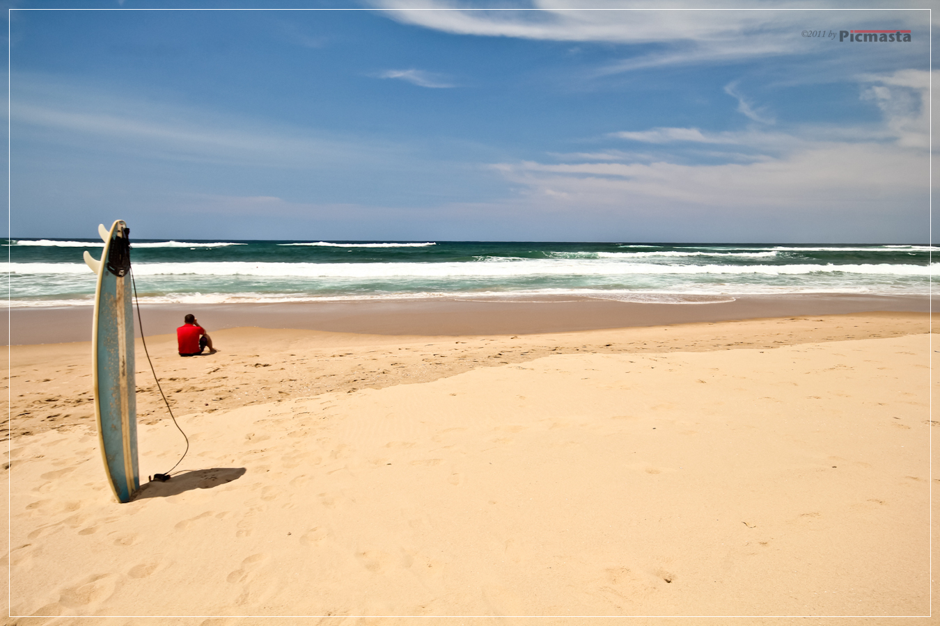 Beach at the iSimangaliso