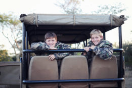 Boys In A Safari Van