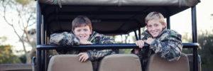 Boys In A Safari Van